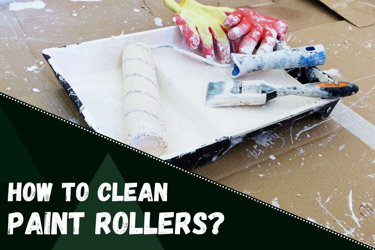 How to Clean Paint Rollers.