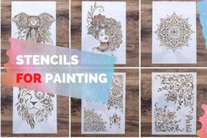 stancils for paintings
